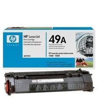 Заправка картриджей HP Q5949A, принтеров  HP LJ 1160/1320