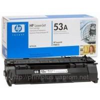 Заправка картриджей HP Q7553A (№53A), принтеров HP LaserJet P2014/ P2015/ P2015d/ P2015dn/ P2015n/ P2015x