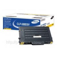 Заправка картриджей Samsung CLP-500D5Y/ELS принтера Samsung CLP-500/500N/550/550N