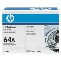 Заправка картриджей HP CC364A (№64А), принтеров HP LaserJet P4014/P4015/P4515