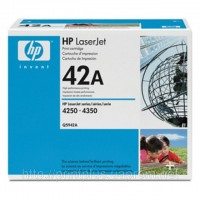 Заправка картриджей HP Q5942A (№42A), принтеров HP LaserJet 4250/4350