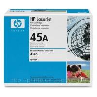 Заправка картриджей HP Q5945A (№45A), принтеров HP LaserJet 4345/M4345