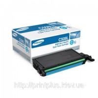 Заправка картриджа CLT-C508L для принтера Samsung CLP-620/670/CLX 6220FX