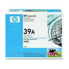 Заправка картриджей HP Q1339A (№39A), принтеров HP LaserJet 4300