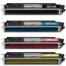 Заправка Hp CP1025/1025nw/pro 100 m175a, заправка картриджа Hp CE310A